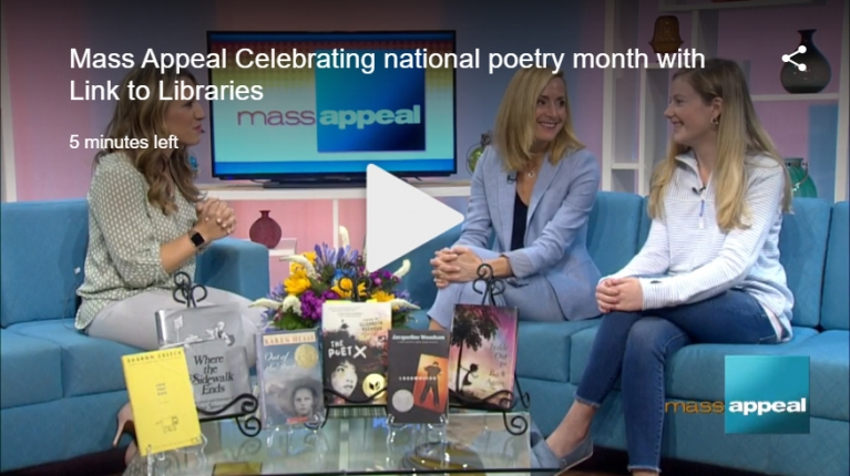 Celebrating national poetry month with Link to Libraries