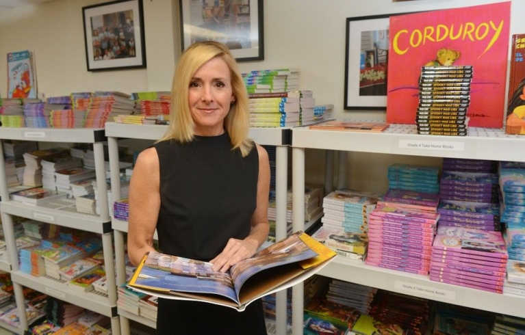 Laurie Flynn links to distributor of books to underserved youth