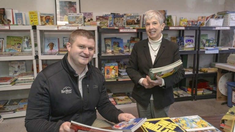 WMass Business Community Helps Link to Libraries Reach 400,000 Books